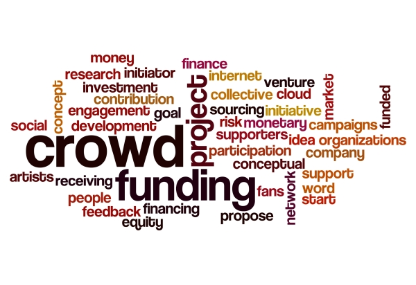 crowd funding word cloud